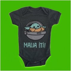 BODY DIVERTIDO STAR WARS BABY YODA - BEBE YODA