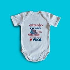 BODY BEBE DIVERTIDO - ALL STAR AZUL