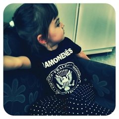 CAMISETA INFANTIL RAMONES ROCK - RAMONENÊS - Honey Peppers