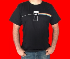 KIT TAL PAI TAL FILHO CAMISETA + CAMISETA INFANTIL - PINK FLOYD ROCK - DARK SIDE OF THE MOON na internet