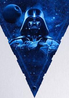 POSTER QUADRO DECORAÇÃO FILME STAR WARS - DARTH VADER DARK SIDE OF THE POWER - comprar online