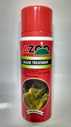 Algae Treatment 120ml anti algas Aquário Doce/Marinho Azoo