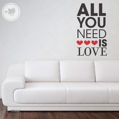 Looma Vinilo ALL YOU NEED IS LOVE