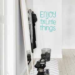 Looma Vinilos Decorativos Frases little things