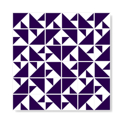 "M² ""Laje"" Royal Blue Ceramic Tiles - online store"