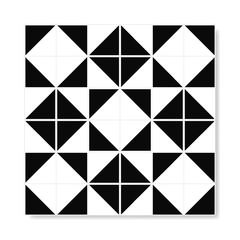 "Image of M² ""Raiz"" Black Ceramic Tiles"