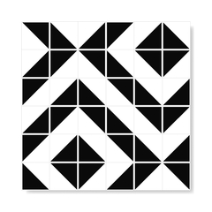 "M² ""Raiz"" Black Ceramic Tiles on internet"