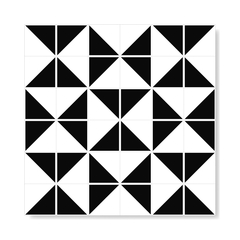 "M² ""Raiz"" Black Ceramic Tiles - online store"