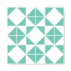 "M² ""Raiz"" Light Green Ceramic Tiles - online store"