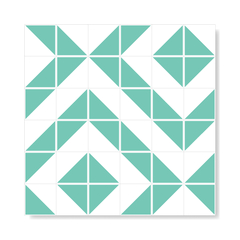 "M² ""Raiz"" Light Green Ceramic Tiles - buy online"