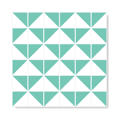 "M² ""Raiz"" Light Green Ceramic Tiles on internet"