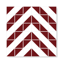 "M² ""Raiz"" Burgundy Ceramic Tiles"