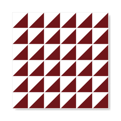"M² ""Raiz"" Burgundy Ceramic Tiles - Lurca"
