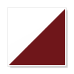 "M² ""Raiz"" Burgundy Ceramic Tiles on internet"