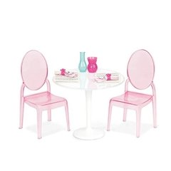 Our Table For Two Furniture Set.  Set mesa y dos sillas.