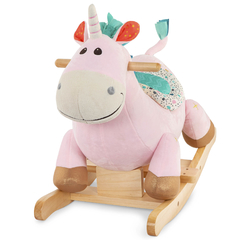 Mecedor Balancin Unicornio Rodeo Rocker Cleo Battat
