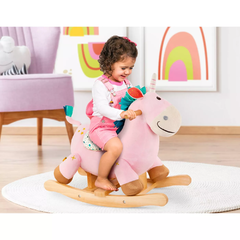 Mecedor Balancin Unicornio Rodeo Rocker Cleo Battat - Kids Point