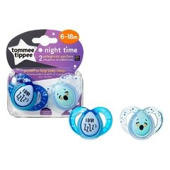 Chupetes Night Time Tommee Tippee 6-18m. - Kids Point