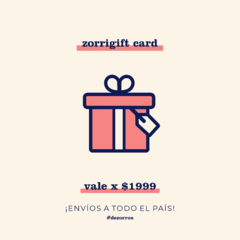 Gift Card x $1999