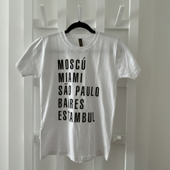 Remera Unisex Bs As (descontinuada)
