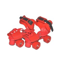 Patines extensibles Tuxs  rojo