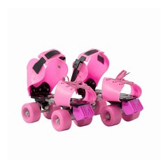Patines extensibles Tuxs  rosa