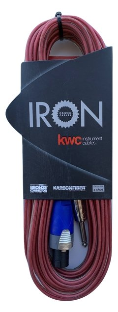 Cable Bafle Kwc Iron 402 Speakon - Plug 9 Mts