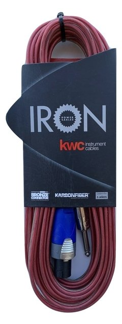 Cable Bafle Monitor Kwc Iron 400 Speakon - Plug 3 Mts