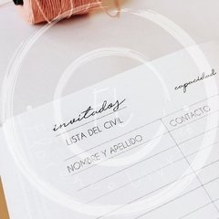 Imagen de WEDDING JOURNAL • Blue