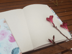 Notebook • Watercolor Flowers - Florence Livres
