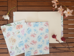 Notebook • Watercolor Roses - tienda online