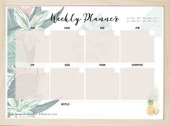 Pizarra imantada Week Planner - Hawaii en internet