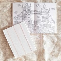 Coloring Notebook • Pink Tussor - Florence Livres