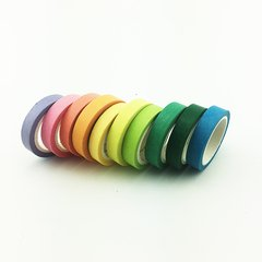 Washi Tape Rainbow Set x 10 Rollos