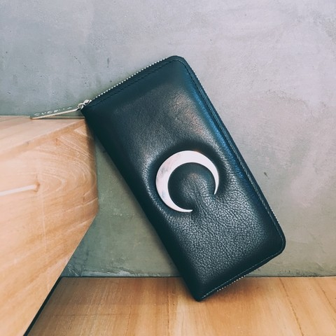 MOON WALLET (GAMUZA CROCO)