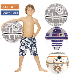 Set de pelotas inflables Star wars en internet
