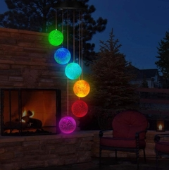 Luces solares LED multicolor para exterior - Atomic