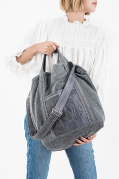 Tote Solana gris on internet
