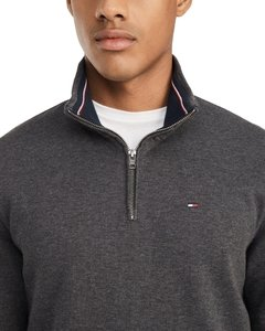 Sweater Tommy Hilfiger Cinza Chumbo - TH025 - Tamanho GG - comprar online