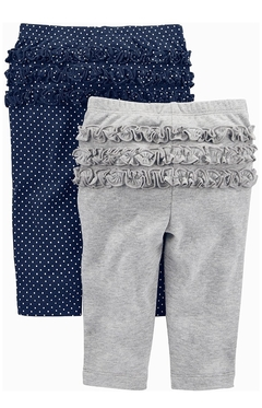 Kit 4 calças Cotton Simple of Joys By Carters - SJ6040 - Tamanho RN na internet