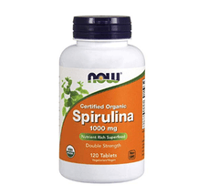 Spirulina 1000 mg NOW - 120 tablets