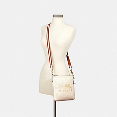 Bolsa Crossbody Coach Horse Carriage - Off White na internet
