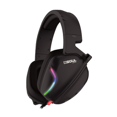 AURICULAR GAMER CON LUCES Y MICROFONO XSOUL GAME XH150 Crush Sound