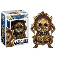 Funko POP Cogsworth de Beauty and the Beast live action - Vaulted