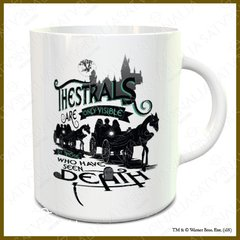 Taza porcelana Thestrals - HARRY POTTER OFICIAL