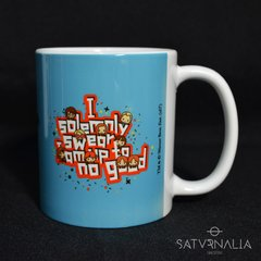 Taza porcelana I solemnly swear Chibis - HARRY POTTER OFICIAL - Saturnalia