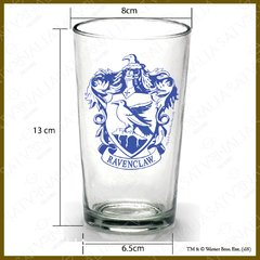 Vaso de Ravenclaw con escudo color - HARRY POTTER OFICIAL