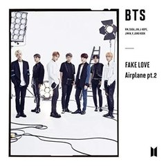BTS - FAKE LOVE/Airplane Pt 2 - LIMITED EDITION - Japanese version - CD + Booklet