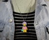 Colar - Patty Bouvier / Simpsons Lego - comprar online