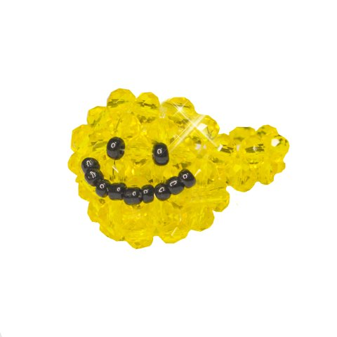 Anel Cristal Smiley